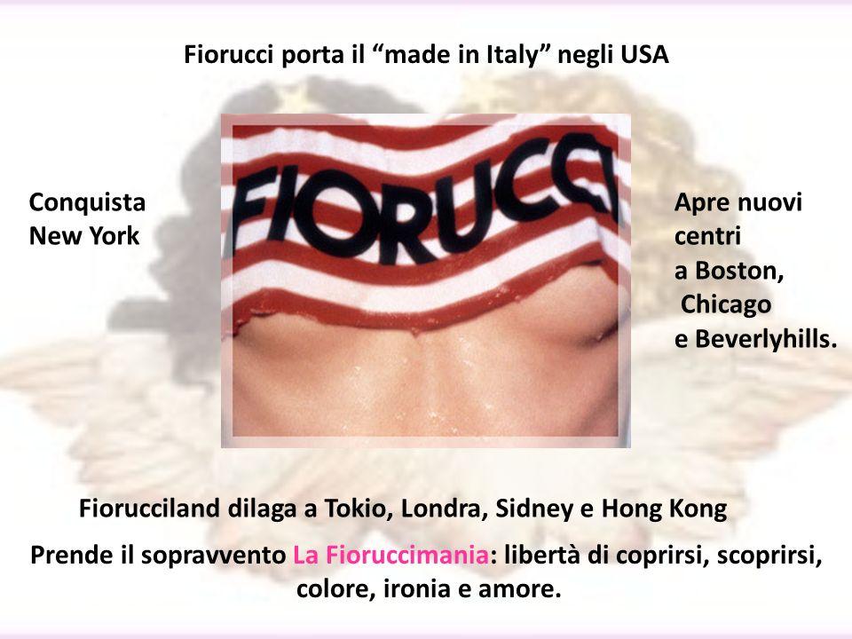Fiorucci porta il made in Italy negli USA