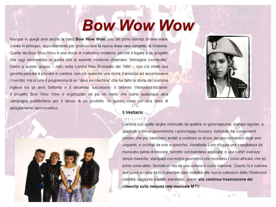 Bow Wow Wow 21 Il Vestiario