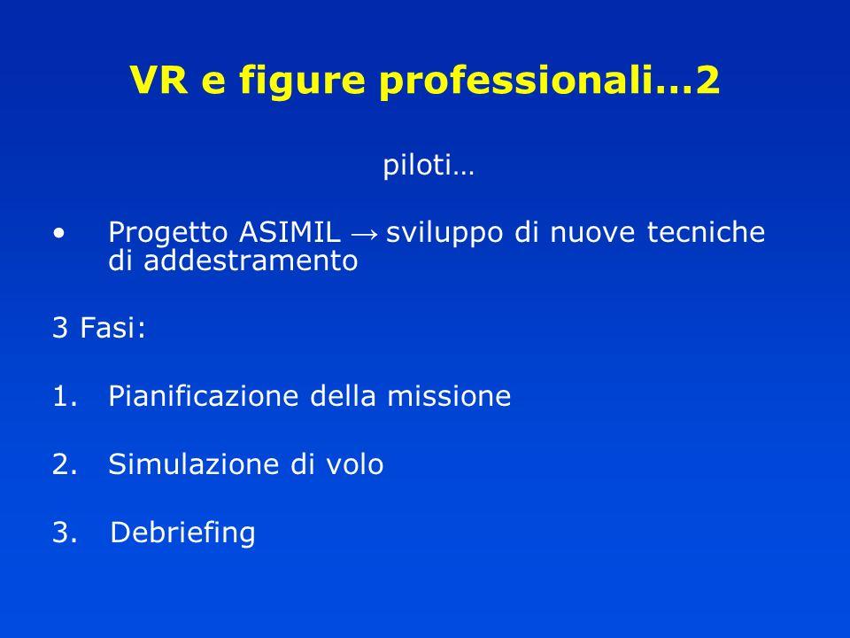 VR e figure professionali…2