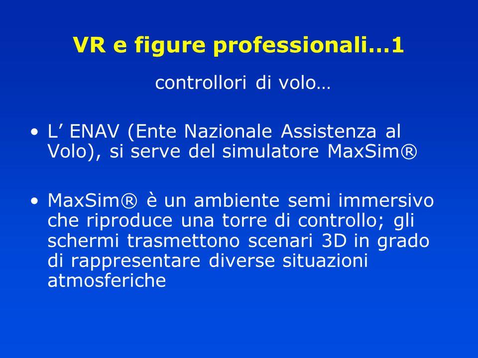 VR e figure professionali…1