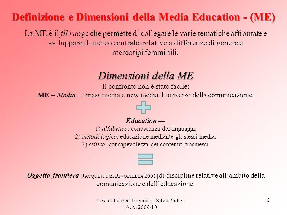 Definizione e Dimensioni della Media Education - (ME)