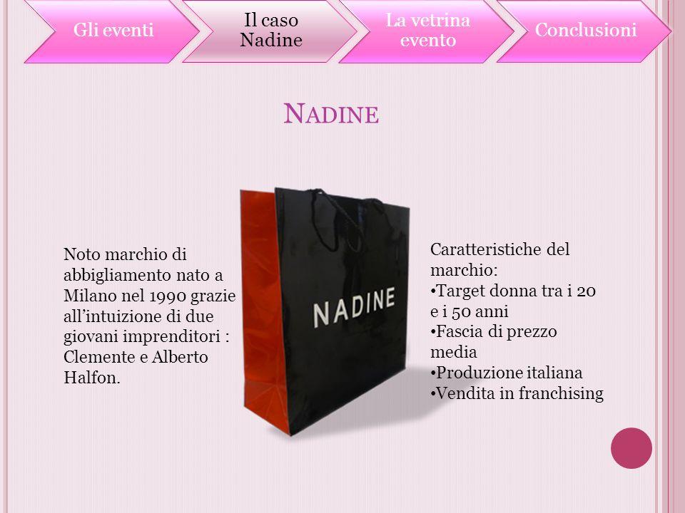 Nadine Caratteristiche del marchio: