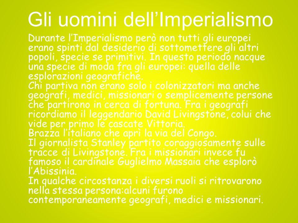 Gli uomini dell'Imperialismo