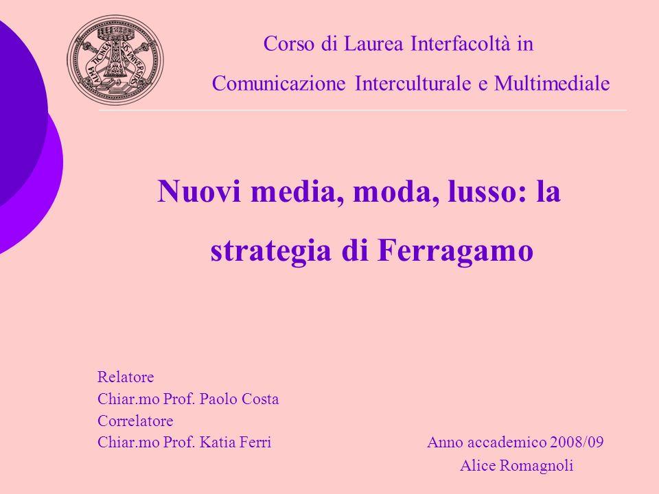 Nuovi media, moda, lusso: la strategia di Ferragamo