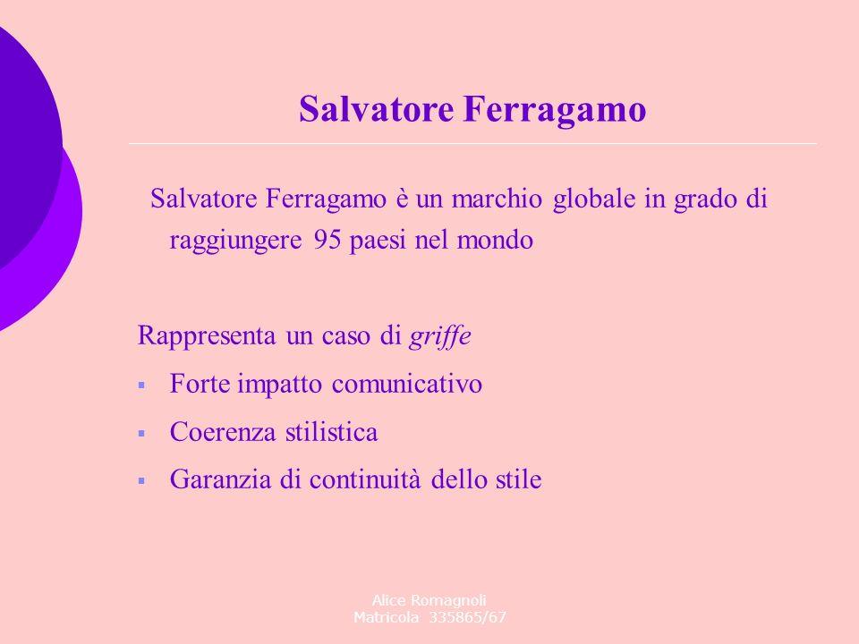 Alice Romagnoli Matricola 335865/67