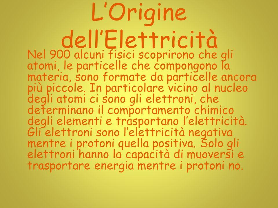 L'Origine dell'Elettricità