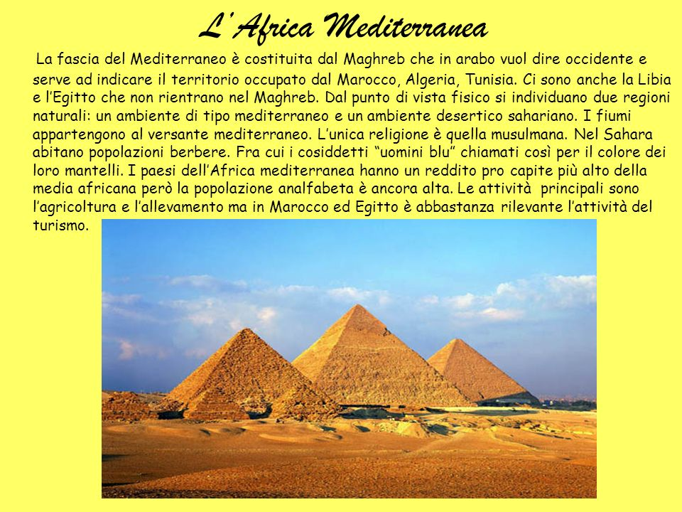 L'Africa Mediterranea