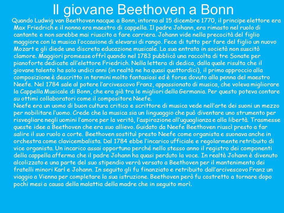 Il giovane Beethoven a Bonn