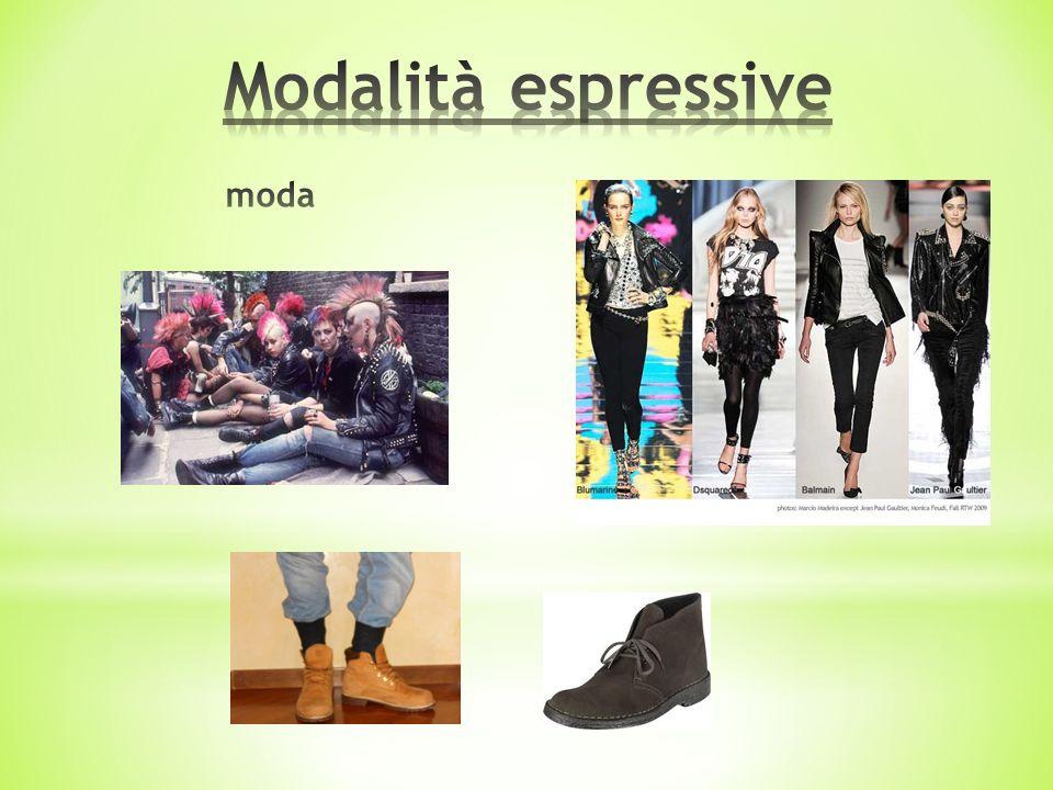 Modalità espressive moda