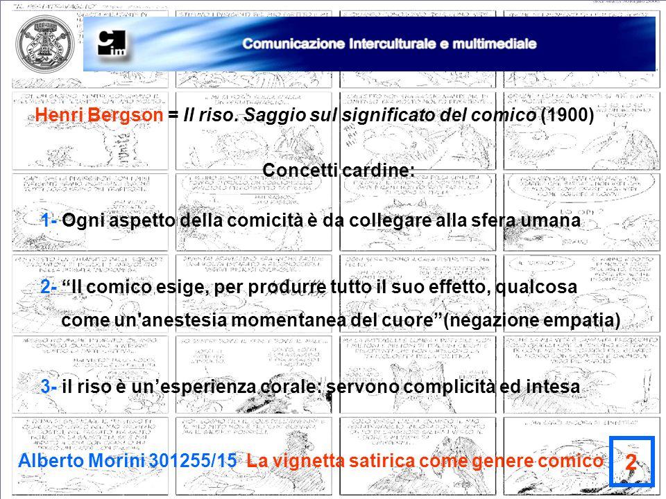 2 Henri Bergson = Il riso. Saggio sul significato del comico (1900)