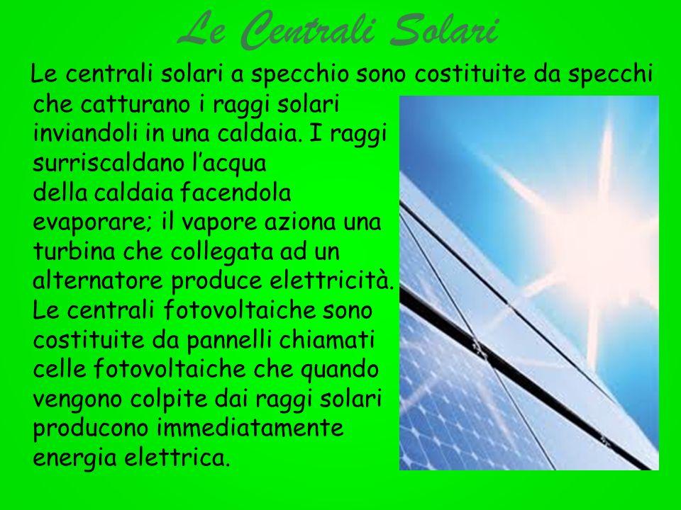 Le Centrali Solari