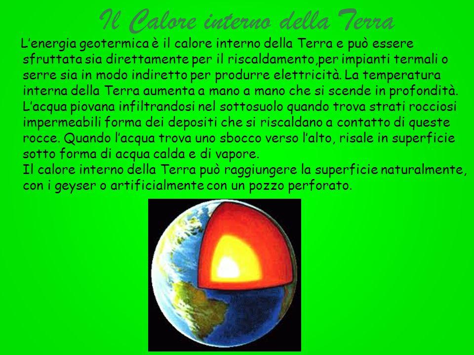 Il Calore interno della Terra