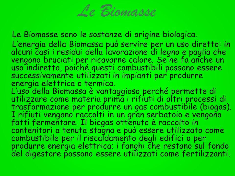 Le Biomasse