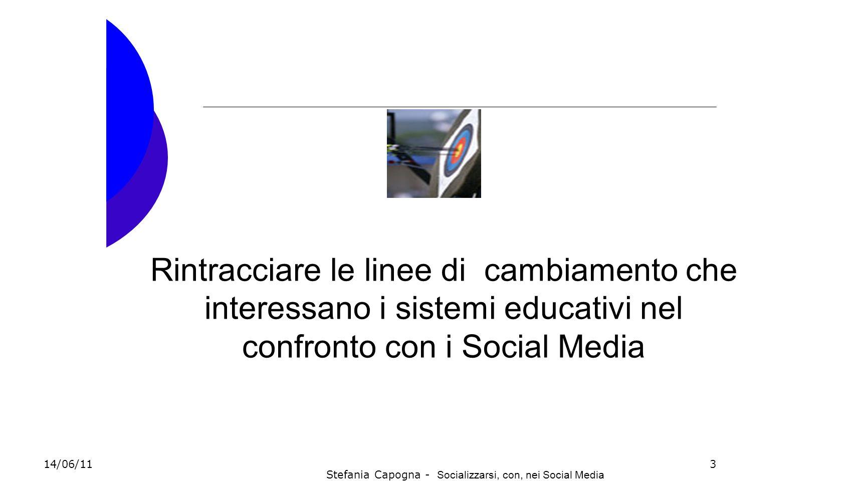 Stefania Capogna - Socializzarsi, con, nei Social Media