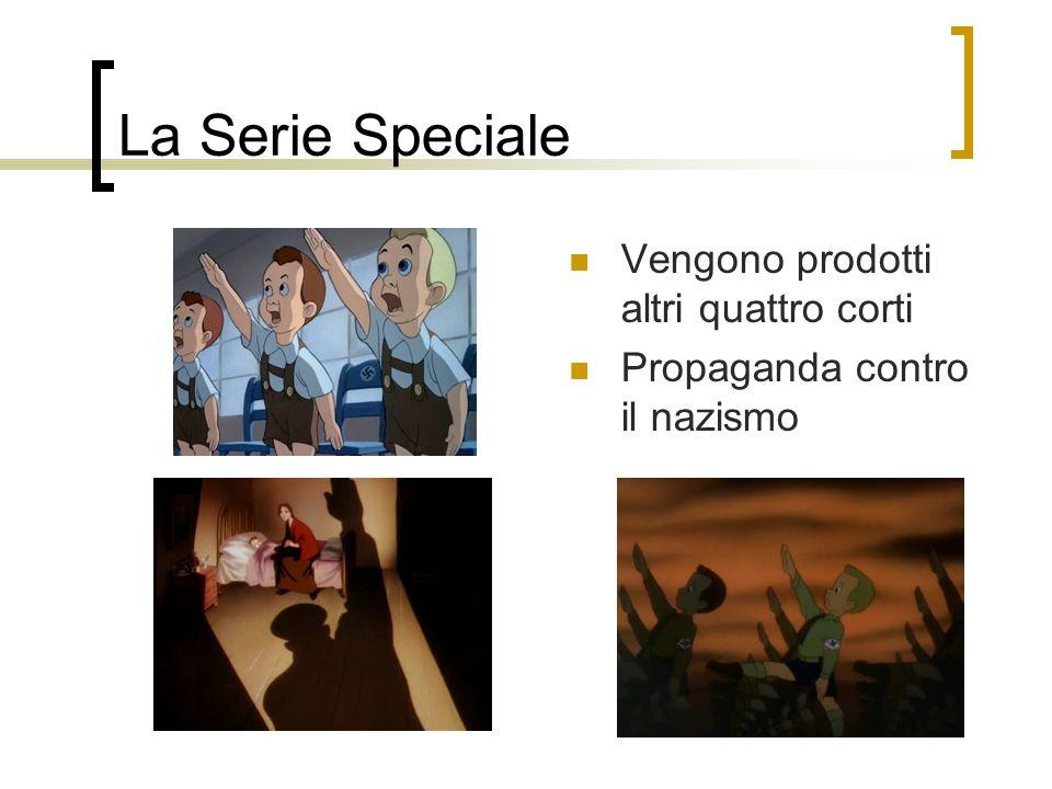 La Serie Speciale Vengono prodotti altri quattro corti