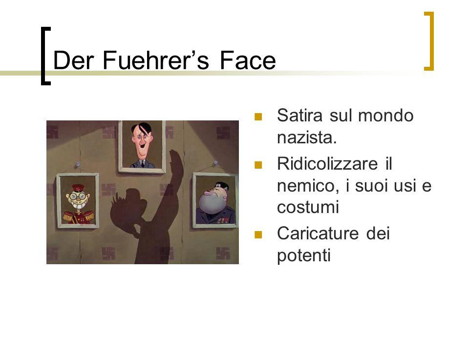 Der Fuehrer's Face Satira sul mondo nazista.