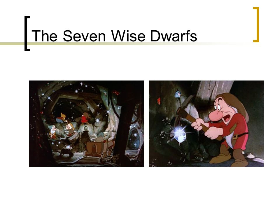 The Seven Wise Dwarfs