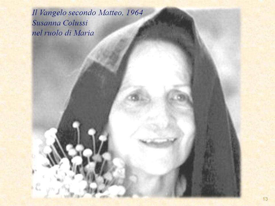 Il Vangelo secondo Matteo, 1964