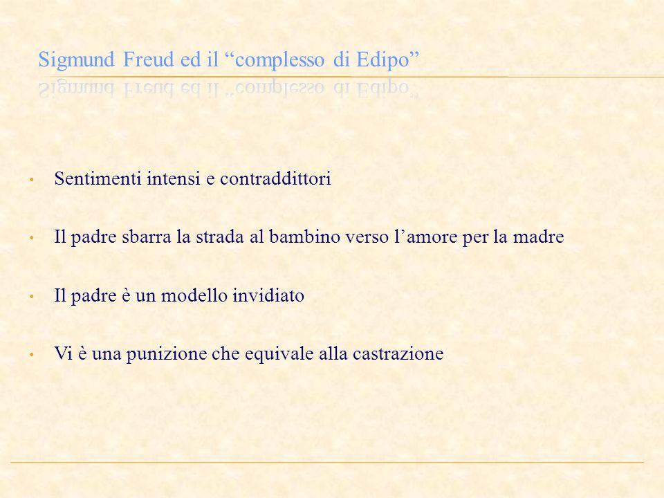 Sigmund Freud ed il complesso di Edipo
