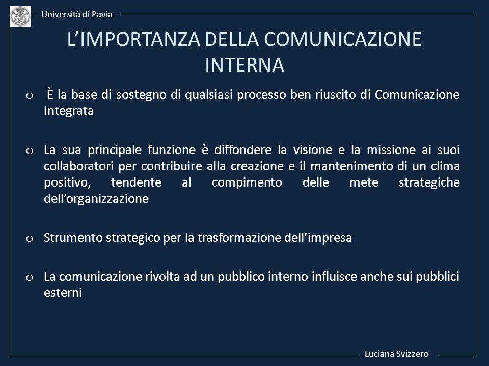L'IMPORTANZA DELLA COMUNICAZIONE INTERNA