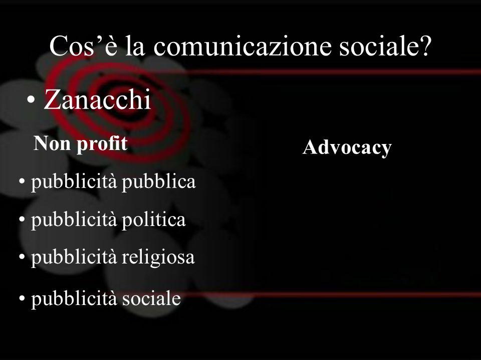 Cos'è la comunicazione sociale