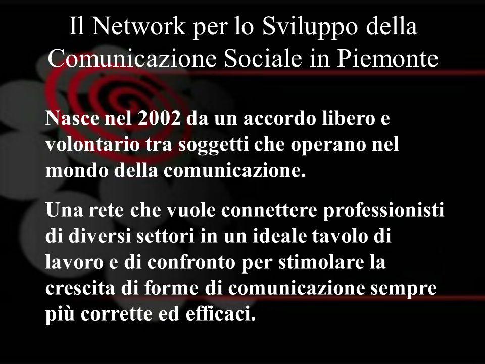 Il Network per lo Sviluppo della Comunicazione Sociale in Piemonte