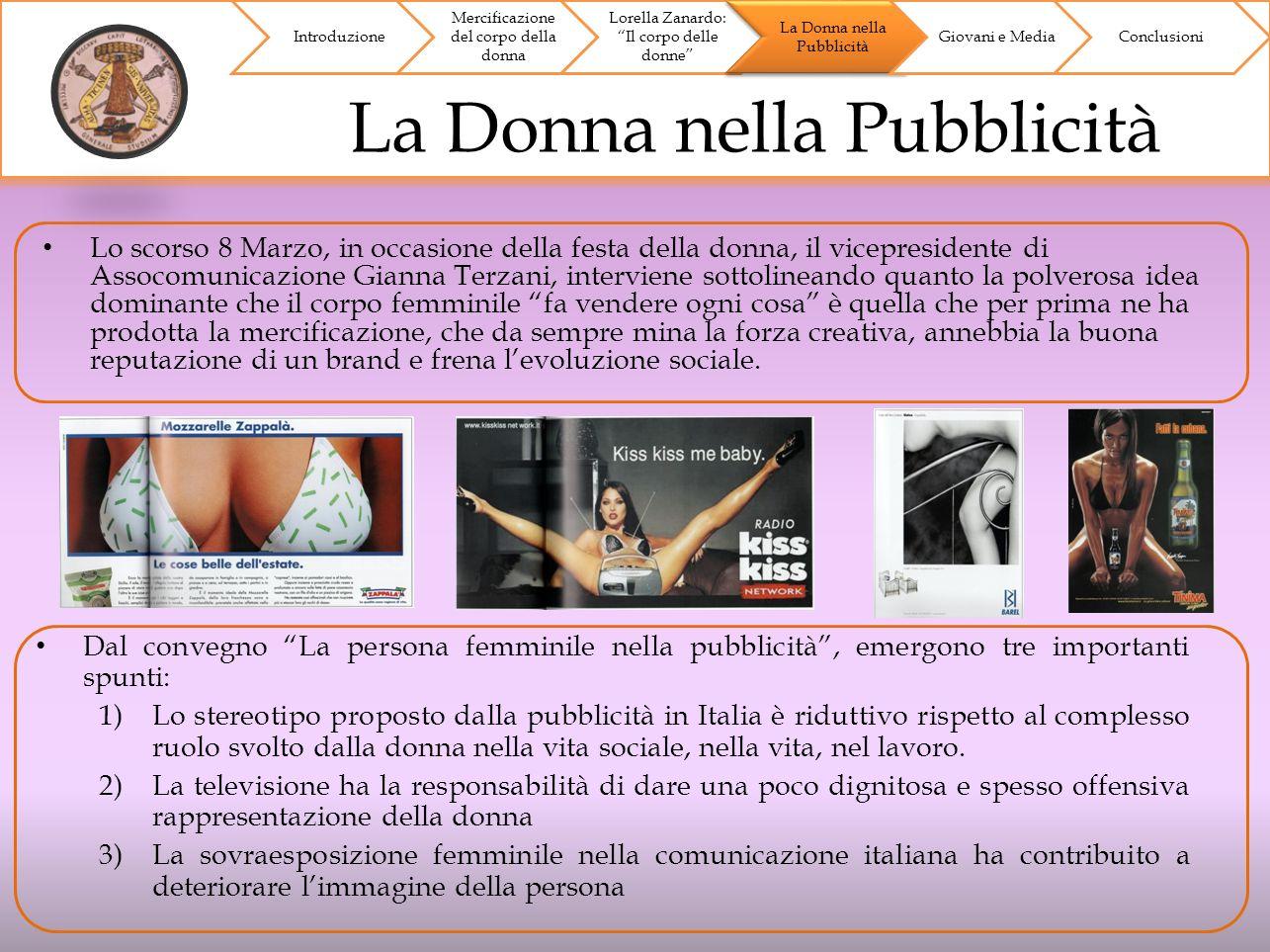 La Donna nella Pubblicità