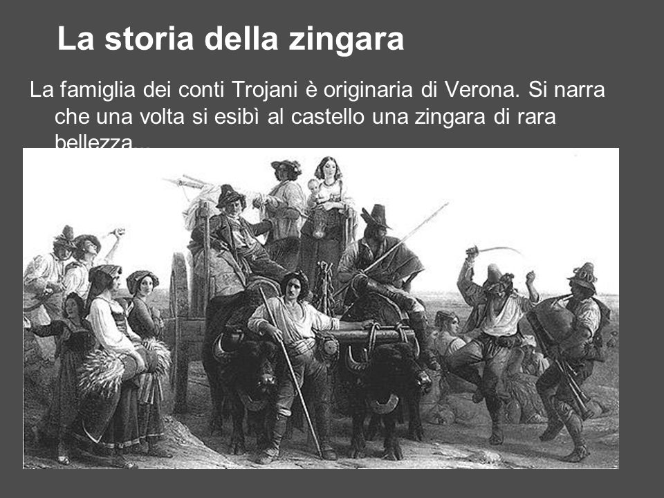 La storia della zingara