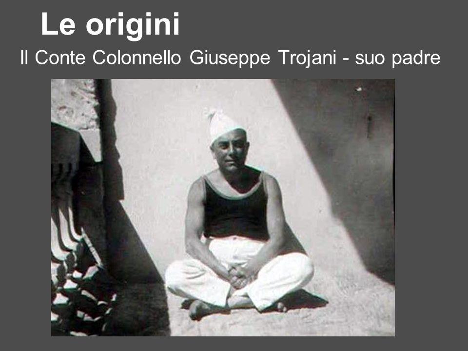 Il Conte Colonnello Giuseppe Trojani - suo padre