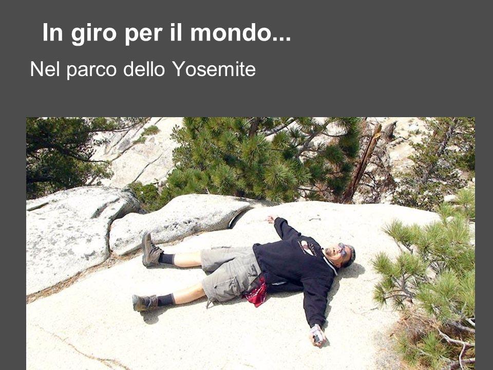 In giro per il mondo... Nel parco dello Yosemite