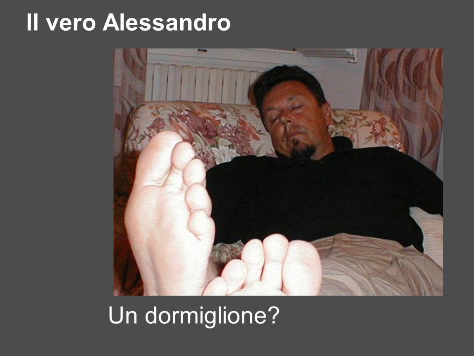 Il vero Alessandro Un dormiglione