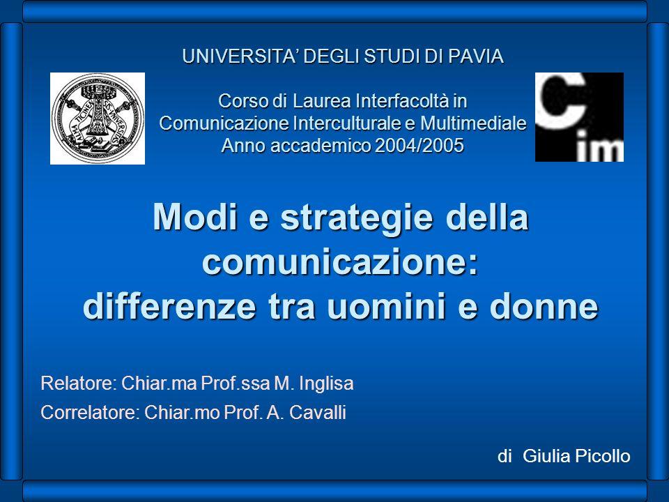Modi e strategie della comunicazione: differenze tra uomini e donne