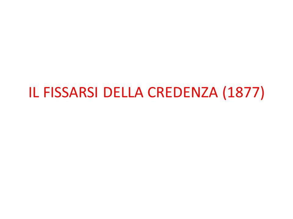 IL FISSARSI DELLA CREDENZA (1877)
