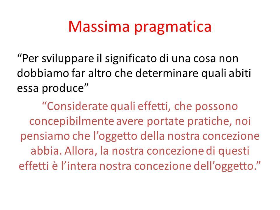Massima pragmatica