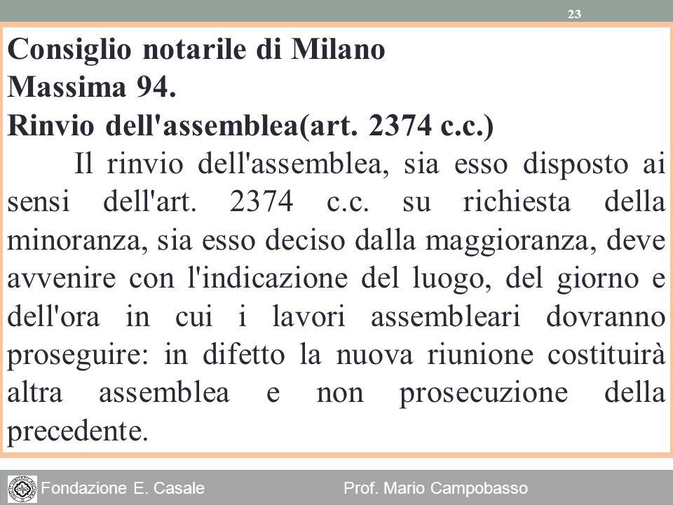 Consiglio notarile di Milano