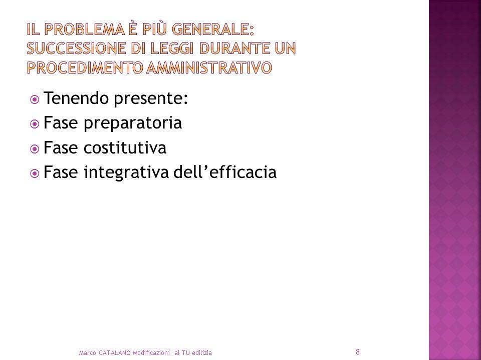 Fase integrativa dell'efficacia