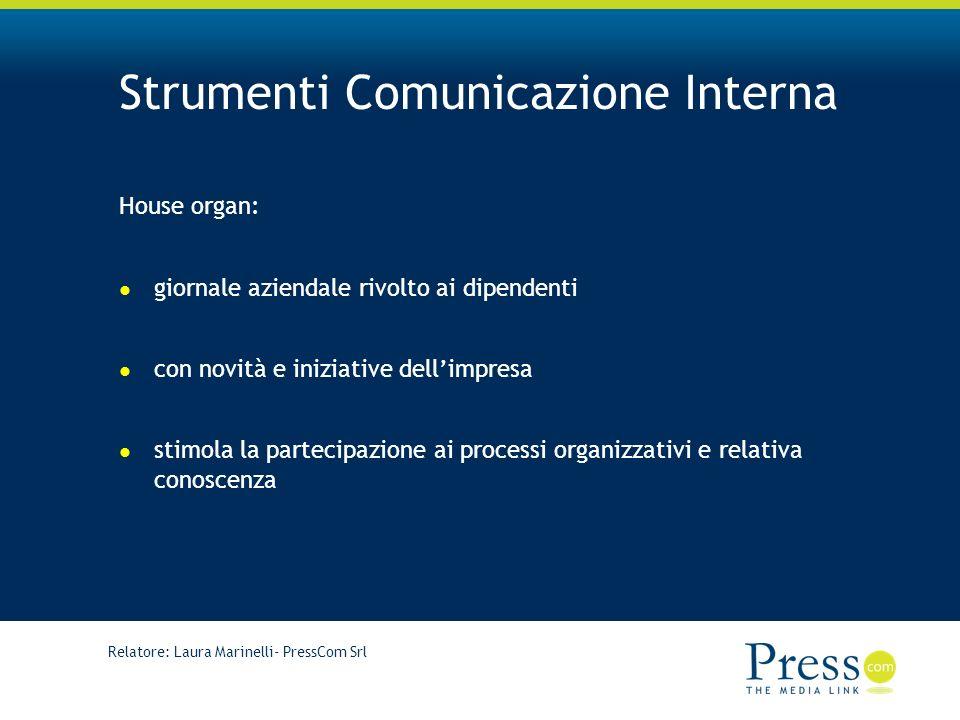 Strumenti Comunicazione Interna