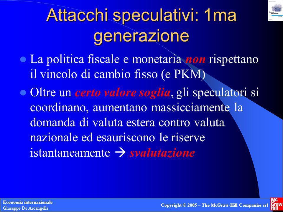 Attacchi speculativi: 1ma generazione
