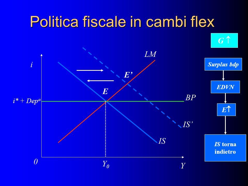 Politica fiscale in cambi flex