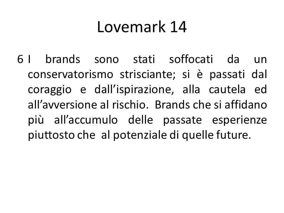 Lovemark 14
