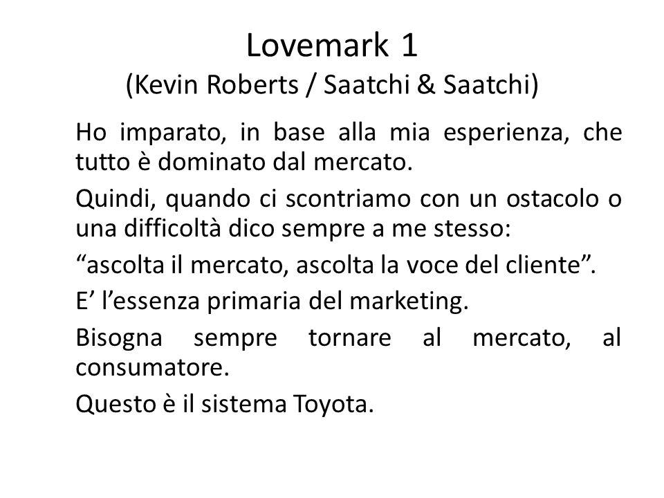 Lovemark 1 (Kevin Roberts / Saatchi & Saatchi)