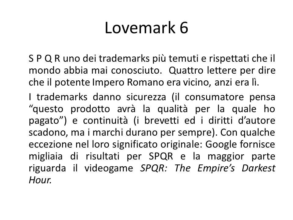 Lovemark 6