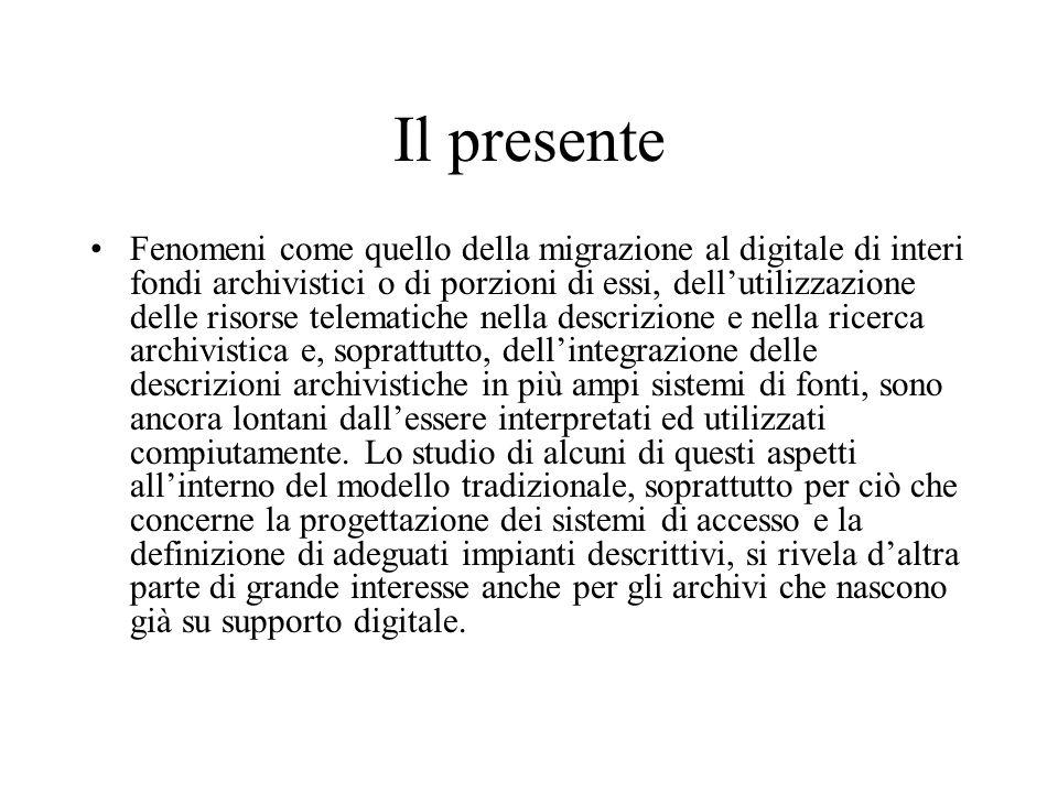 Il presente