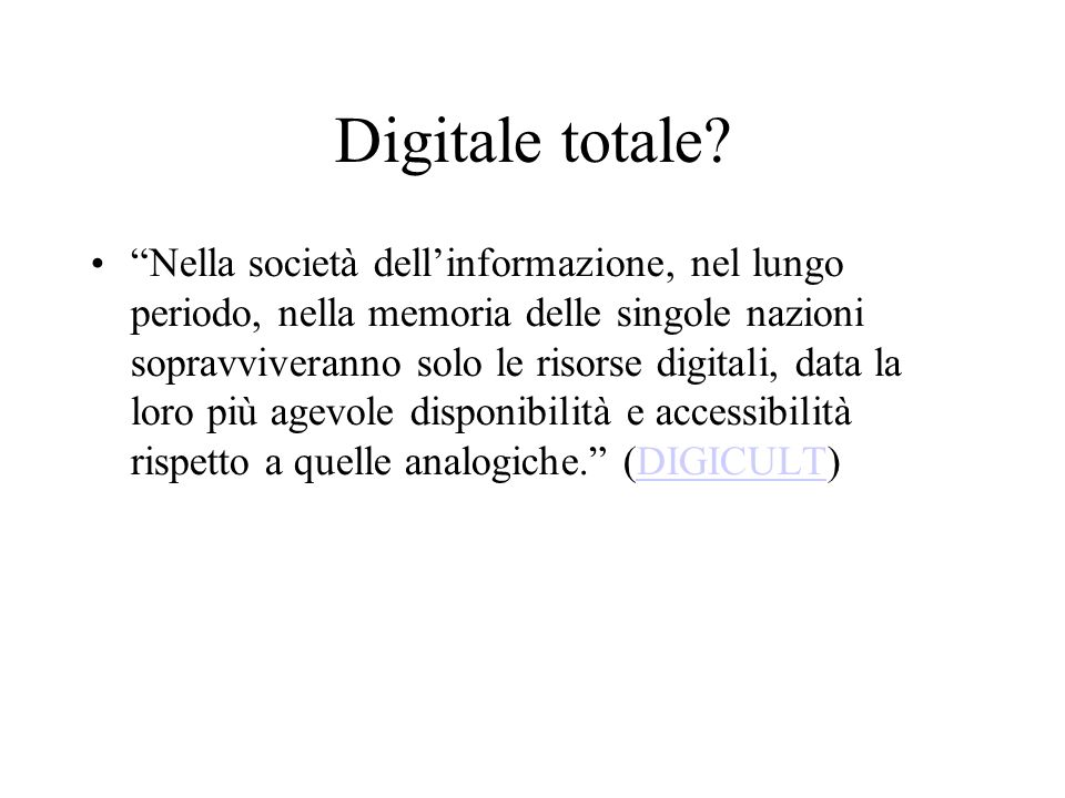 Digitale totale