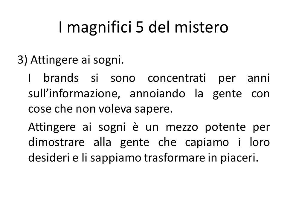 I magnifici 5 del mistero
