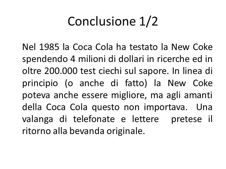 Conclusione 1/2