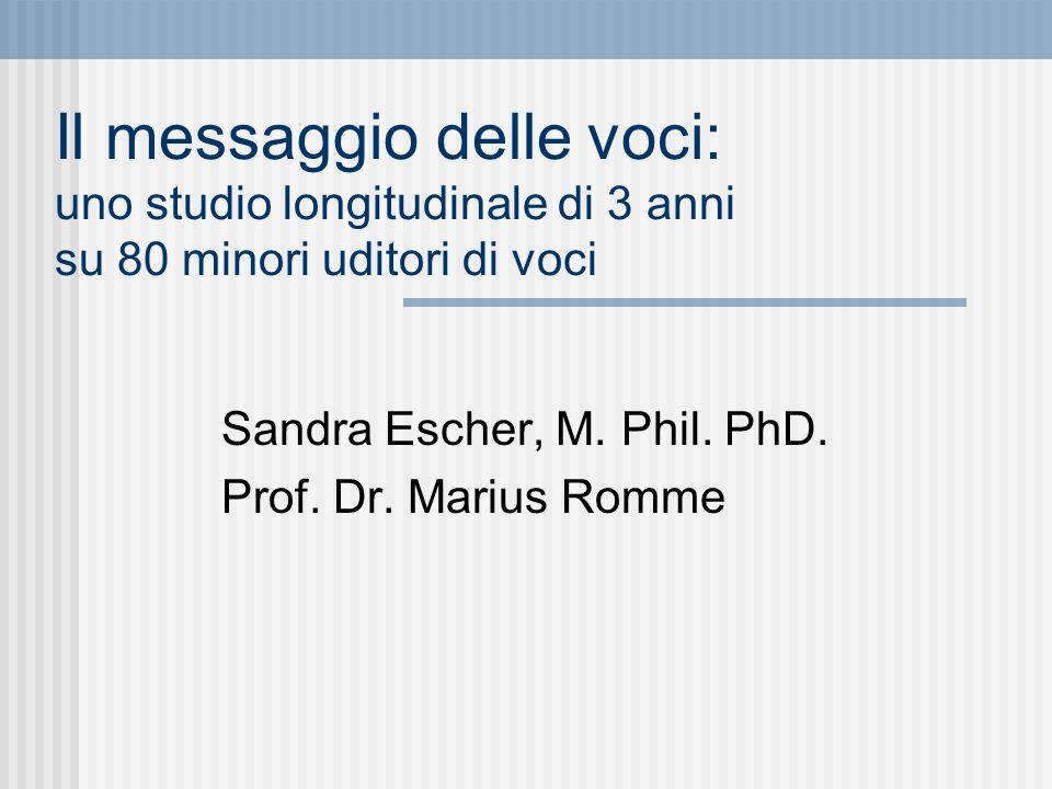 Sandra Escher, M. Phil. PhD. Prof. Dr. Marius Romme