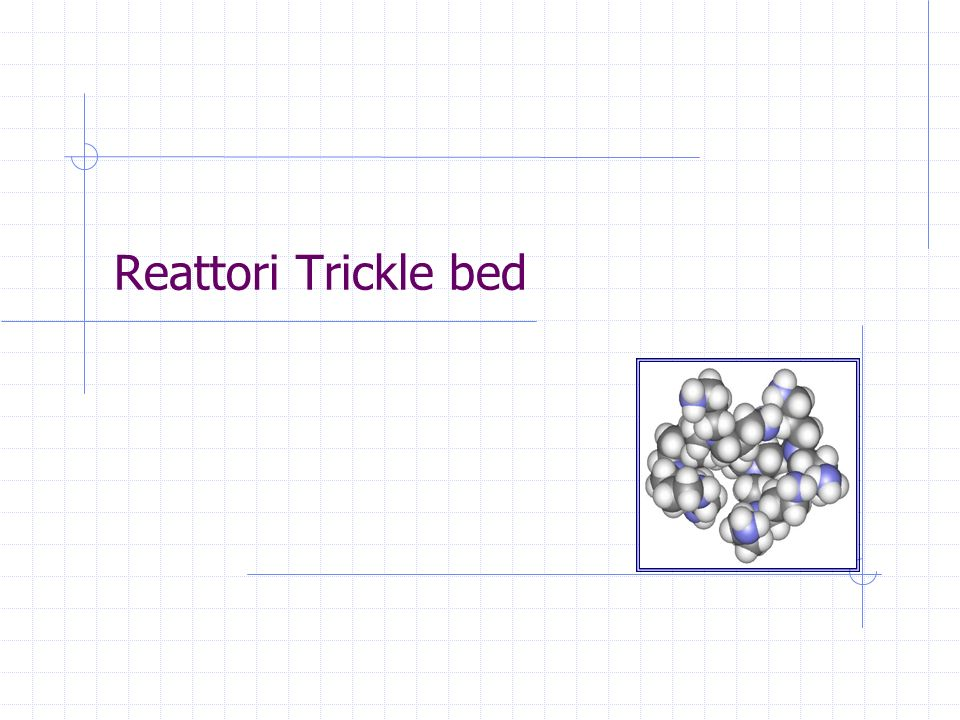 Reattori Trickle bed