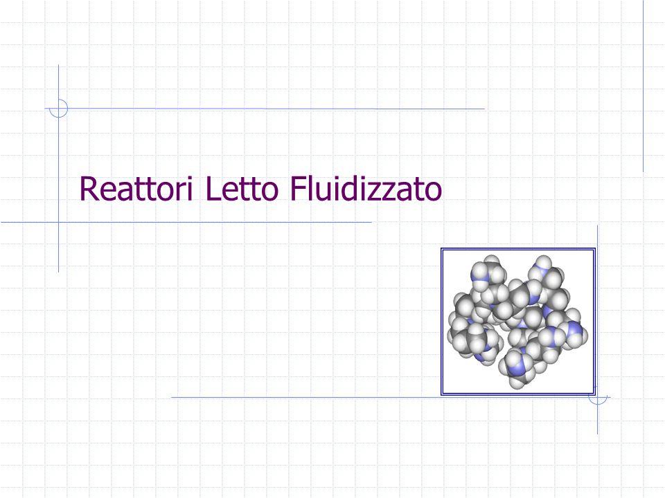 Reattori Letto Fluidizzato