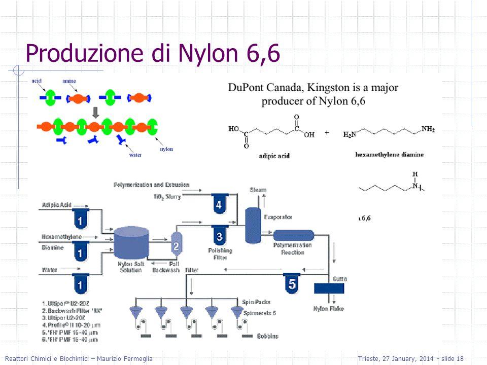 Produzione di Nylon 6,6